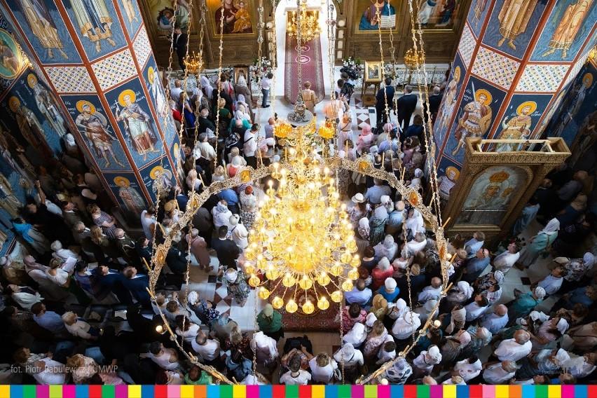 Cerkiew Zwiastowania NMP w Supraślu wyświęcona. To jedyna...