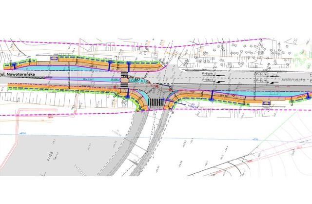 Plan inwestycji drogowej przy Bydgoskim Parku Przemysłowo-Technologicznym