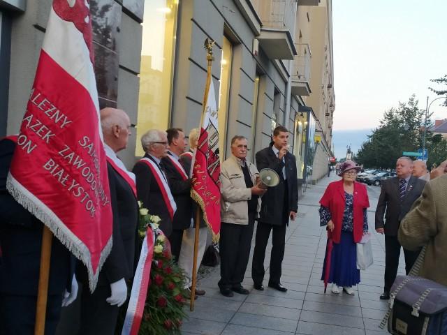 31 sierpnia, w 41. rocznicę podpisania Porozumień sierpniowych, uczczono wydarzenia z 1980 roku. Pod pomnikiem Solidarności zebrali się członkowie klubu WiR i przedstawiciele władz miasta i województwa.