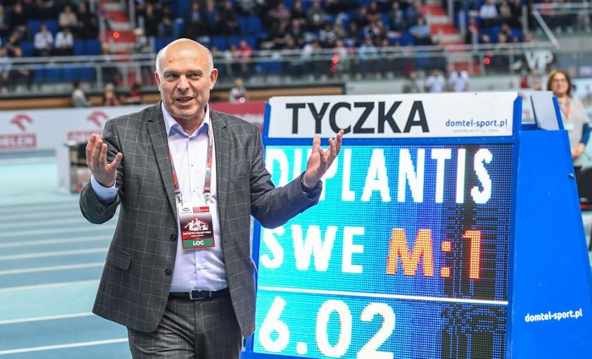 Dyrektor mistrzostw Europy Krzysztof Wolsztyński i jego...