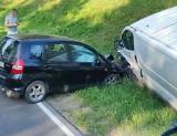 Horodnianka. Wypadek na DK19. Osobówka zderzyła się z busem (zdjęcia)