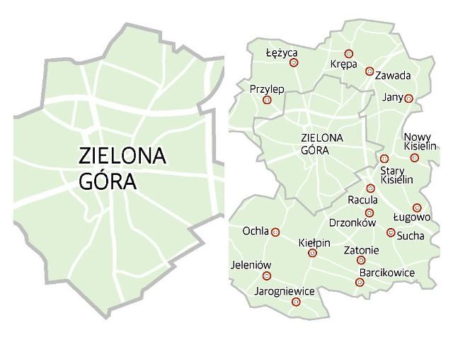 Zielona Gora Polaczyla Sie Z Gmina Mamy Szoste Najwieksze Miasto