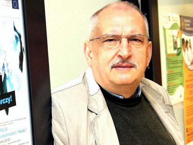 Henryk Tomaszewski, dyrektor Akademickiego Inkubatora Przedsiębiorczości UMK w Toruniu