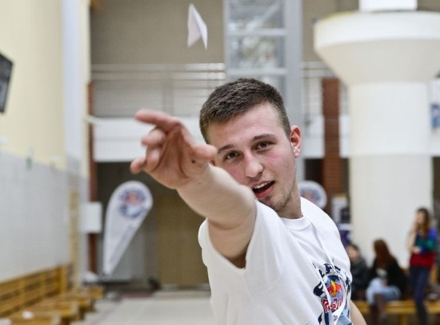W kategorii lot na dystans najlepszy okazał się Jacek Gembala (na zdjęciu)