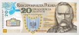 Banknot z podobizną marszałka Piłsudskiego otrzymał nagrodę Banknote of the Year