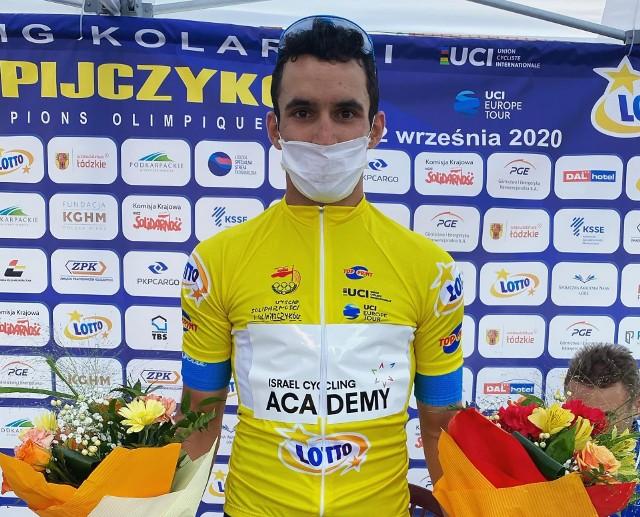 Zwycięzca pierwszego etapu Itamar Einhorn
