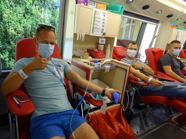 W Chełmnie wczoraj (15.07.2021) można było oddać krew