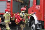 Pożar w szpitalu w Bytomiu. Ogień wybuchł w sali chorych. Ewakuowano 57 pacjentów