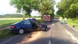 Sobotnia seria wypadków na drodze: tym razem jedna osoba poszkodowana