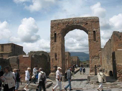 Słynne Pompeje