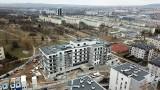 Apartamenty Zapolska w Kielcach. To miejsce skąd można podziwiać cudną panoramę miasta i okolic. Zobaczcie zdjęcia z drona