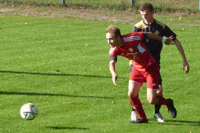 Jakub Zejglic (z przodu) zapewnił Gwardii ważne trzy punkty.