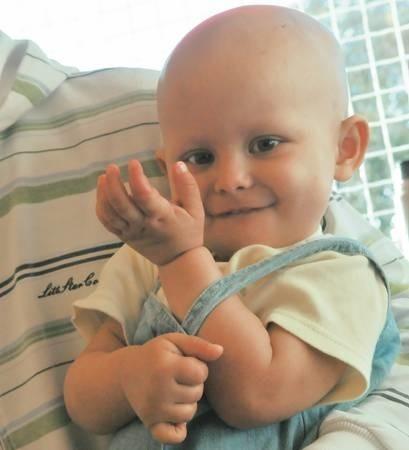 Dziewczynka choruje na rzadki nowotwór naczyń nerkowych - neuroblastomę
