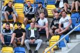 Kibice ŁKS gorąco dopingowali i cieszyli się ze zwycięstwa w Gdyni