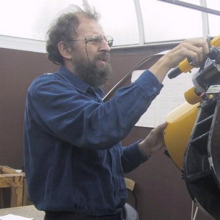 Ludwik Lehman, nauczyciel fizyki w II LO, szef związku od 1994 roku