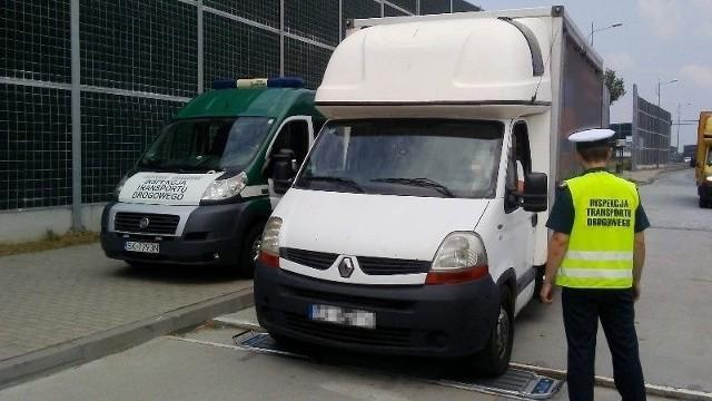 Kontrola ładowności samochodów ciężarowych przez Inspekcje Transportu Drogowego