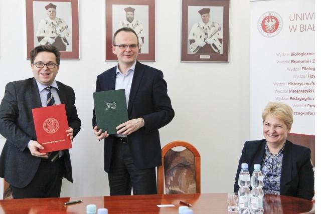 Uniwersytet w Białymstoku będzie współpracować z Zakładem Ubezpieczeń Społecznych