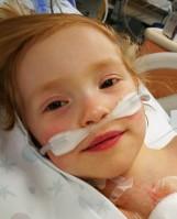 Kornelka po operacji! Lekarze z Rzymu uratowali serce czterolatki. Rodzice dziękują za pomoc