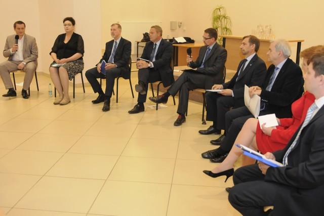 Debata w Kujawsko-Pomorskiej Izbie Rzemiosła i Przedsiębiorczości.
