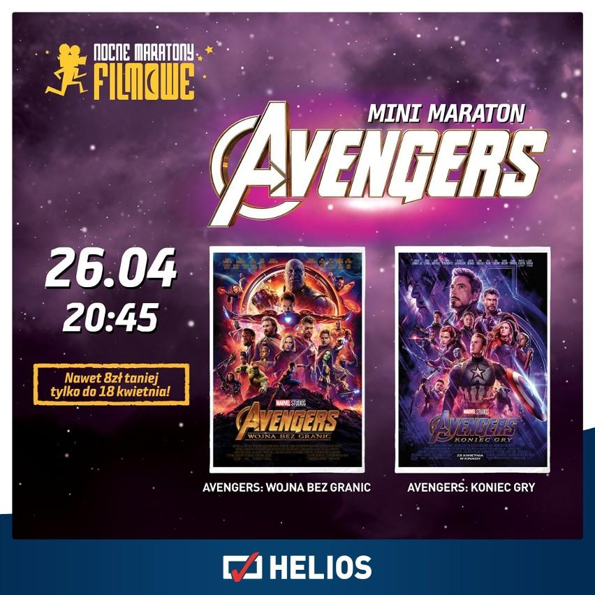 """W piątek, 26 kwietnia, bydgoski """"Helios"""" zaprasza na mini maraton Avengers. Nie przegap!"""