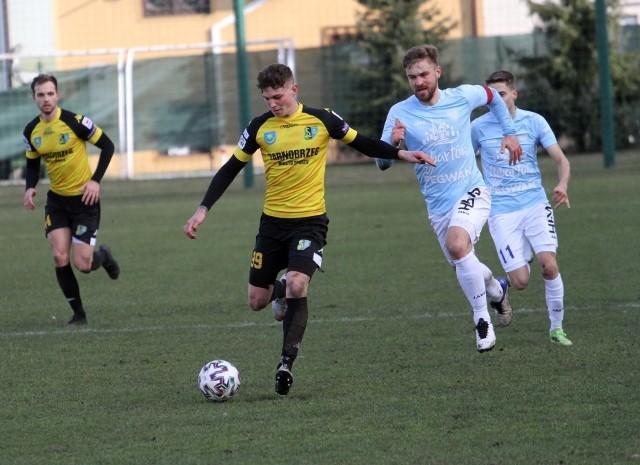 Luigi D'Apollonio strzelił gola dla rezerw Siarki Tarnobrzeg, ale jego drużyna przegrała wysoko