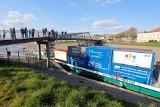 Transport towarów Wisłą. Kontenery z Portu Gdańsk popłyną  do Chełmna. 6.04.2021 r. rusza komercyjno-badawczy rejs