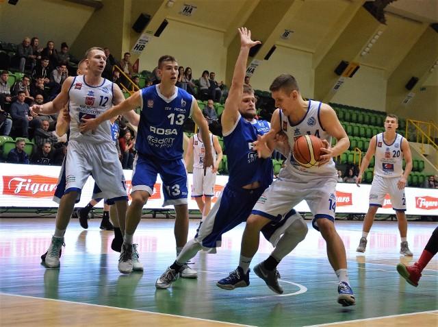 W meczu pierwszej ligi koszykarzy KSK Noteć Inowrocław pokonał Rosę Radom 73:69.