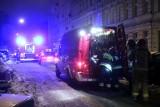 Pożar w kamienicy na Bałutach! Ogień w mieszkaniu kamienicy przy Bojowników Getta Warszawskiego