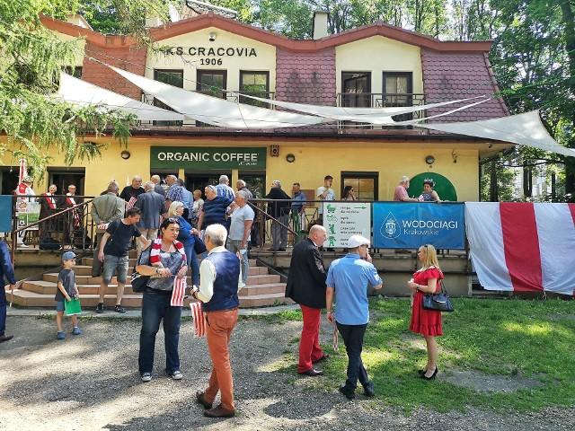 Klub Sportowy Cracovia świętuje swoje 115-lecie. Działacze zebrali się w Parku Jordana i tam obchodzili klubowe urodziny