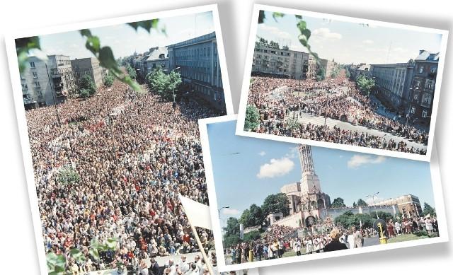 To były nie tylko uroczystości religijne, ale i patriotyczne – wspomina procesję Bożego Ciała w 1982 roku Jerzy Szóstko
