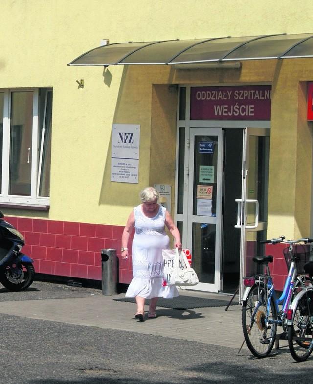 Szpital w Pszczynie prowadzi spółka Centrum Dializa. Od tygodni oddział wewnętrzny zajmuje tylko pół piętra