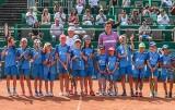 Święto tenisa w Gdyni. Turniej BNP Paribas Poland Open rozpoczęty pokazowym meczem Igi Świątek i Huberta Hurkacza