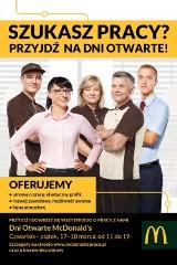 Rekrutacyjne Dni Otwarte w McDonald's Polska®!