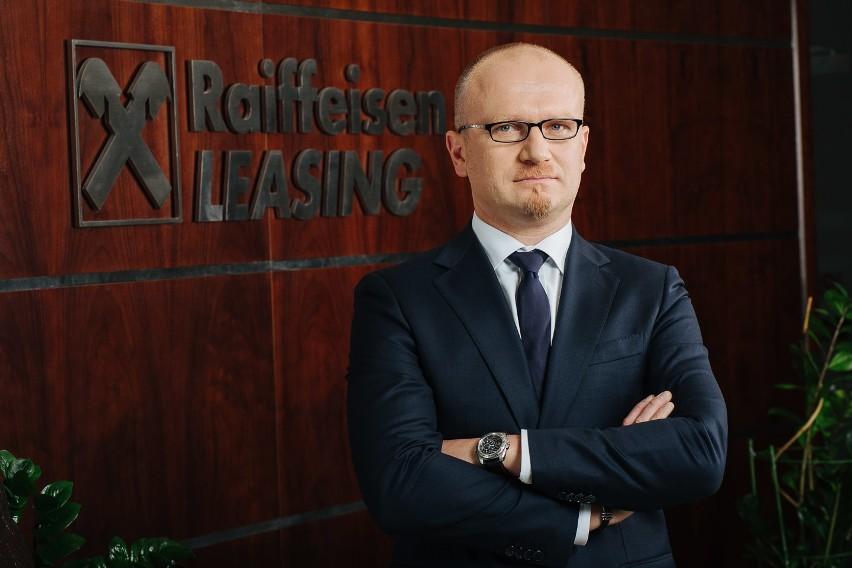 Piotr Warmuła, Dyrektor Sprzedaży ds. Rynków Strategicznych w Raiffeisen Leasing.