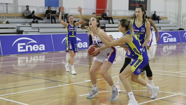 Weronika Piechowiak zaprezentowała się z dobrej strony i zdobyła dla Enei AZS pięć punktów