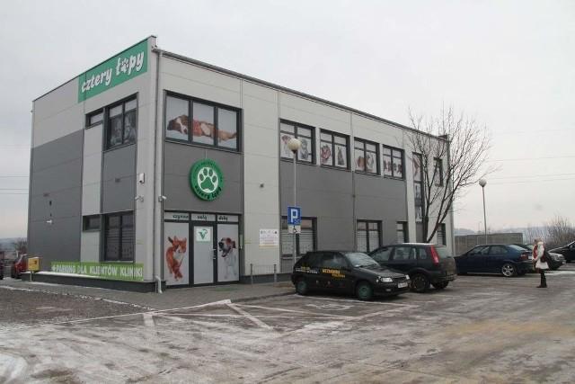 W Kielcach powstała jedna z najnowocześniejszych klinik weterynaryjnychCztery łapy dysponują teraz 400 a nie 160 metrami powierzchni.