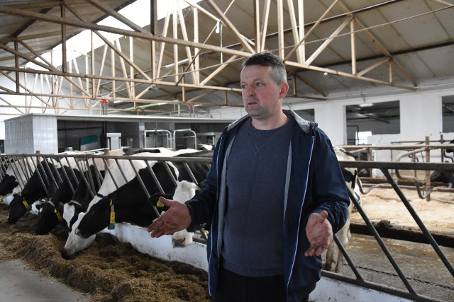- Koszty produkcji mleka bardzo rosną, więc opłacalność spada - mówi Leszek Olszewski
