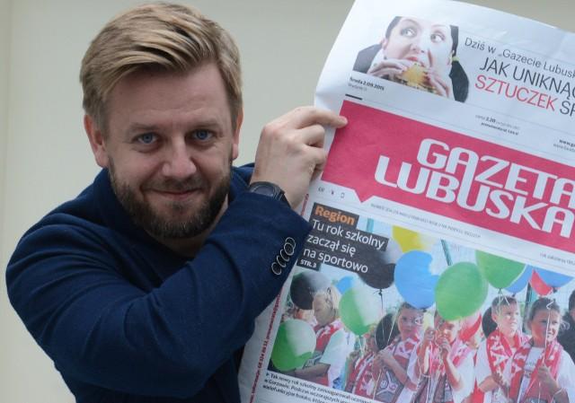 Redaktor Tomasz Rusek pisze o zaśmiecaniu Gorzowa ulotkami reklamowymi.
