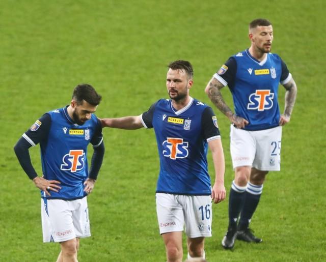 Lech Poznań - Raków Częstochowa 0:2. Kolejorz odpadł z Pucharu Polski.