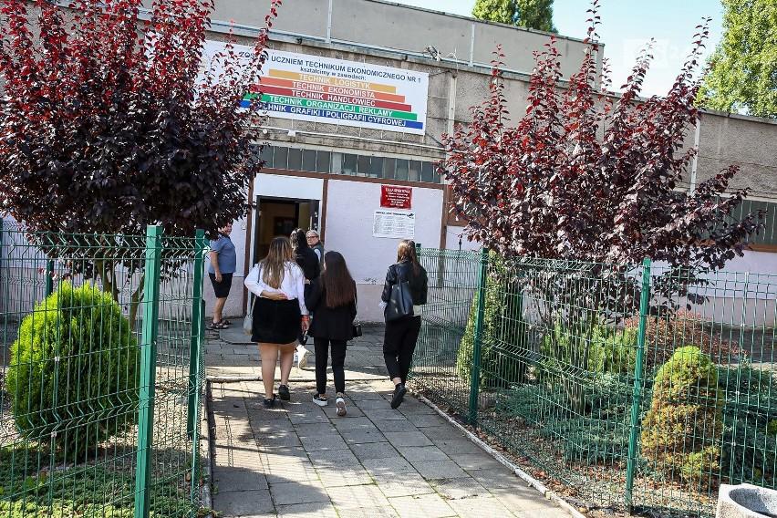 Pierwszy dzień szkoły w Szczecinie