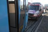 Pasażer zasłabł w tramwaju. Trzeba się liczyć z opóźnieniami