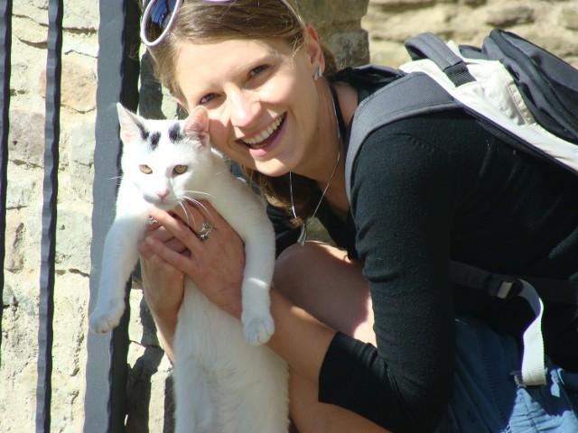 Katarzyna Marszczewska prezes Fundacji Koci Pazur
