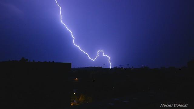 Burza we Wrocławiu w nocy z 9 na 10 sierpnia