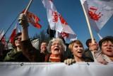 Marsz w obronie TV Trwam: Lepiej być moherem niż Tuska frajerem