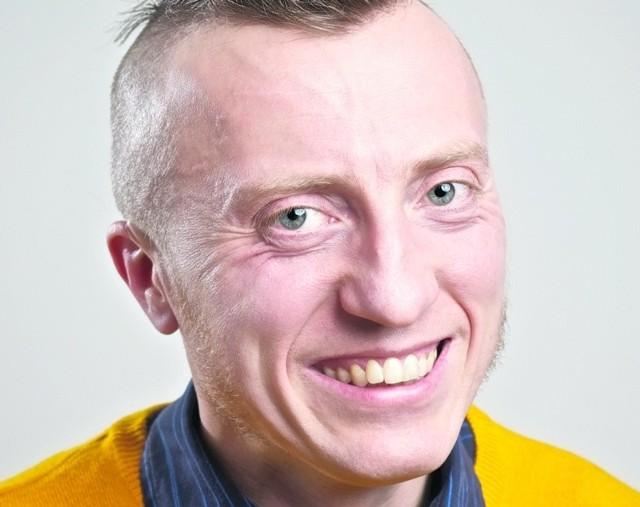 Arkadiusz Łuc pochodzi z Gubina, ma 35 lat, mieszka w Corby