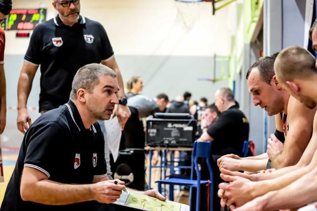 Trener Tura Kamil Zakrzewski liczy na urodzinowy prezent od zespołu w postaci zwycięstwa