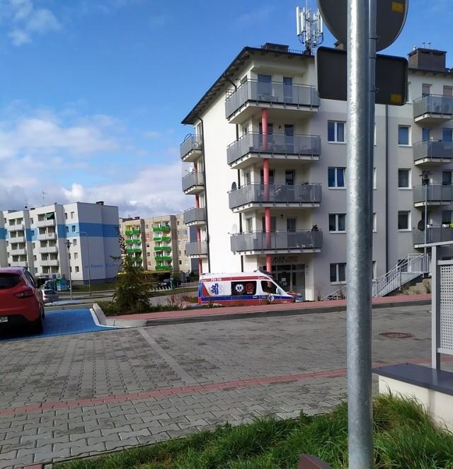 Pacjentkę z przychodni przy os. Śląskim do szpitala w Zielonej Górze miała zabrać pacjentka.
