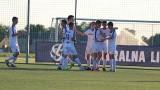 Młodzież Błękitnych bliżej Centralnej Ligi Juniorów. Piłkarze z Wronek w pierwszym meczu barażowym wysoko pokonali Polonię Środa