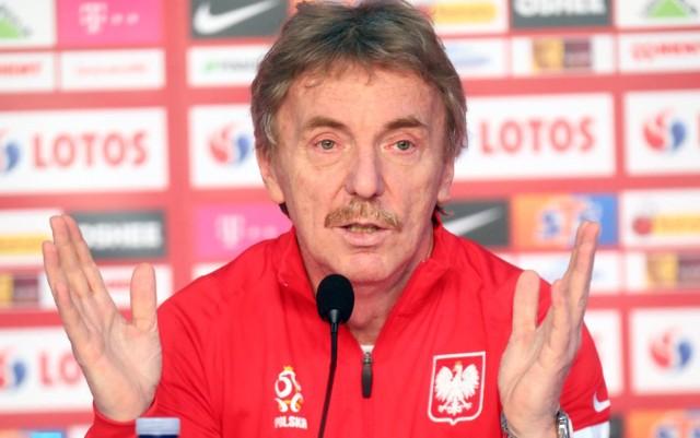 """- To jest rzeczywiście nowy piłkarski ład. Agresji, chęci wygrywania i deklaracji jest mniej, ale to chyba nigdy nie wypływało z ust selekcjonerów czy piłkarzy, tylko z """"pompki medialnej"""" - mówił o mniejszej presji, która panuje obecnie wokół reprezetnacji Polski."""