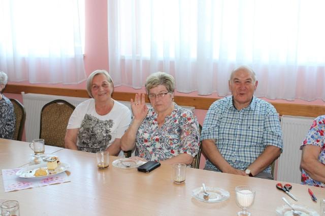 Spotkanie seniorów w kijewskim Gminnym Ośrodku Kultury